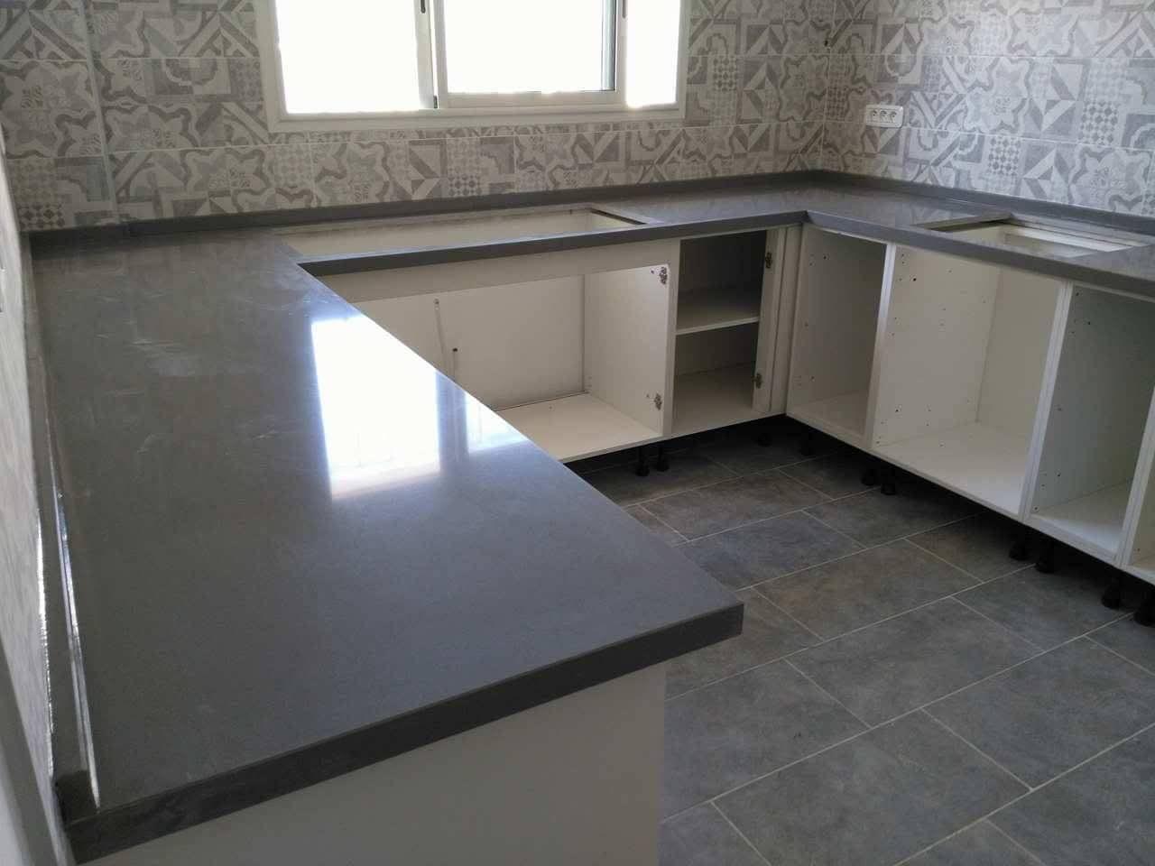 Fabrication des plans de travail cuisine et salle de bain en Granite ...